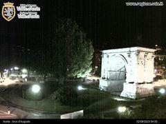 Arco d'Augusto Webcam - Aosta Town Centre