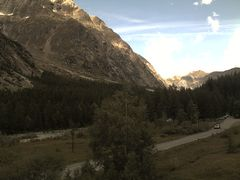 Val Ferret Webcam - View from Hotel Lavachey 1641m