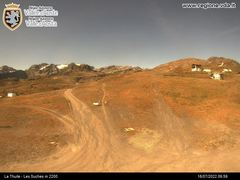 La Thuile Webcam - Les Souches 2200m