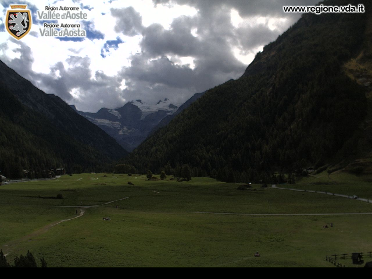 Gran Paradiso National Park Webcam - Cogne, Aosta Valley