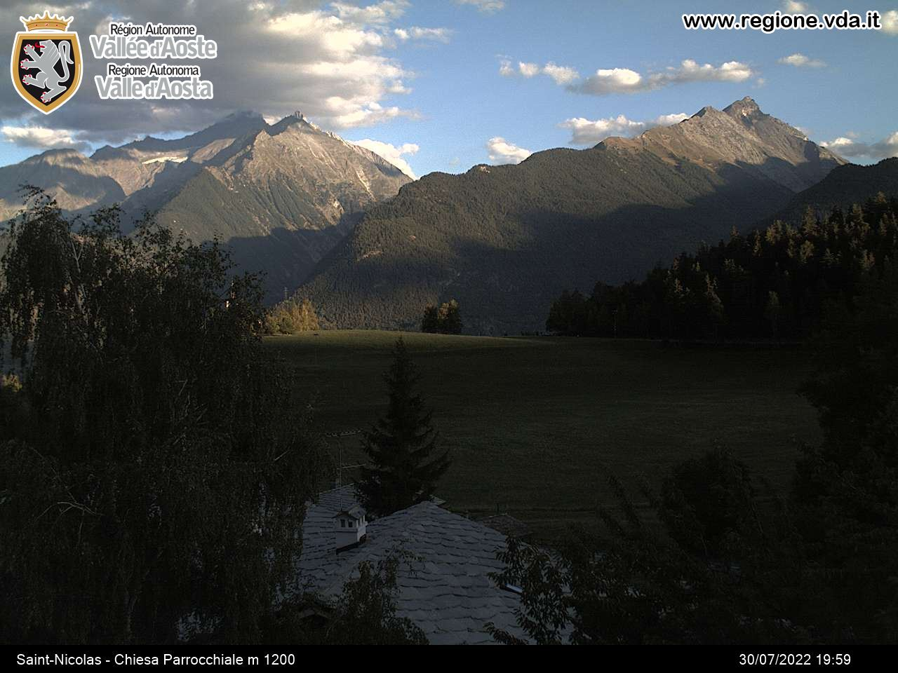 Saint-Nicolas Webcam, Aosta Valley