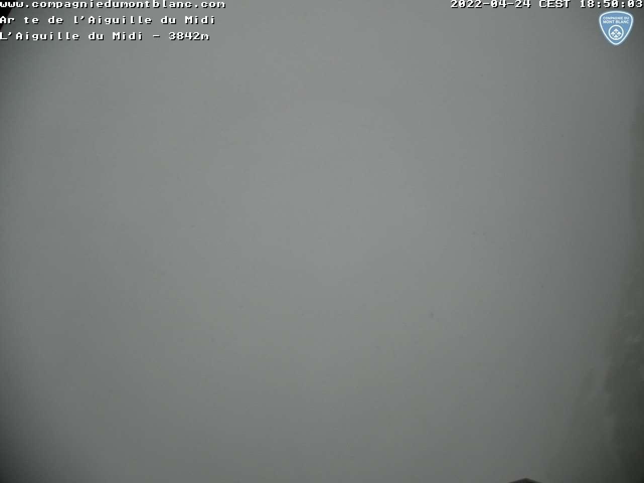 Aiguille du Midi Webcam