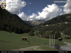 Saint Oyen Webcam - Flassin Foyer du Fond 1300m