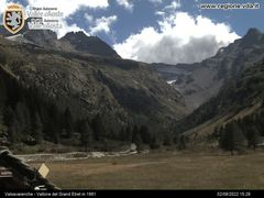 Valsavarenche Webcam 1961m - Vallone del Grand Etret